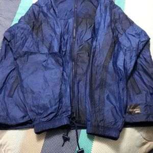 XL Adidas Indigo windbreaker jacket.